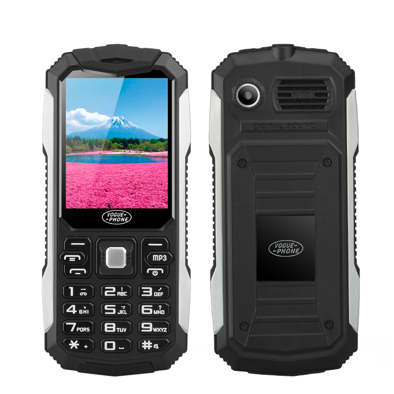 "Bar Phone ""Vogue S6"" (Black)"