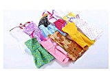[EU Direct] 10pcs/set Fashion Short Princess Skirt doll Kids Gifts