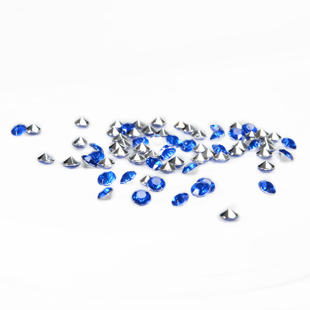 [EU Direct] CYNDIE decoration 4.5mm Navy Blue Acrylic Diamond Confetti Wedding Party Decor Table Scatters 2000pcs