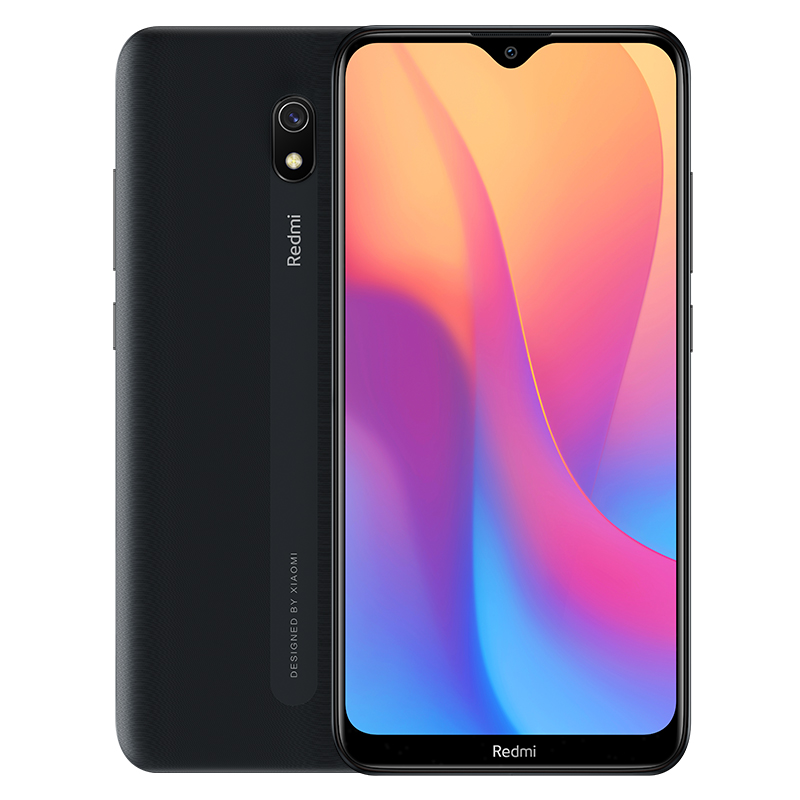 Original Xiaomi Redmi 8A 64GB ROM 4GB RAM Mobile Phone Snapdragon 439 Octa Core 6.22in 5000mAh 12MP Camera Smartphone black_4+64G