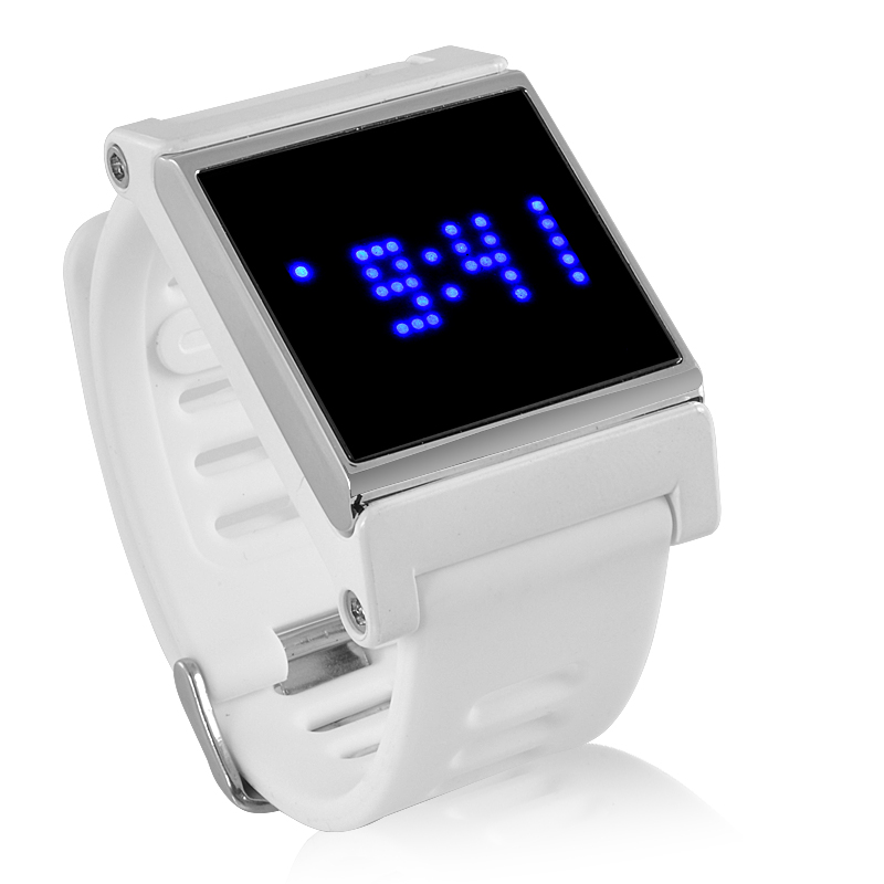 Blue LED Touch Screen Wrist Watch (BL)