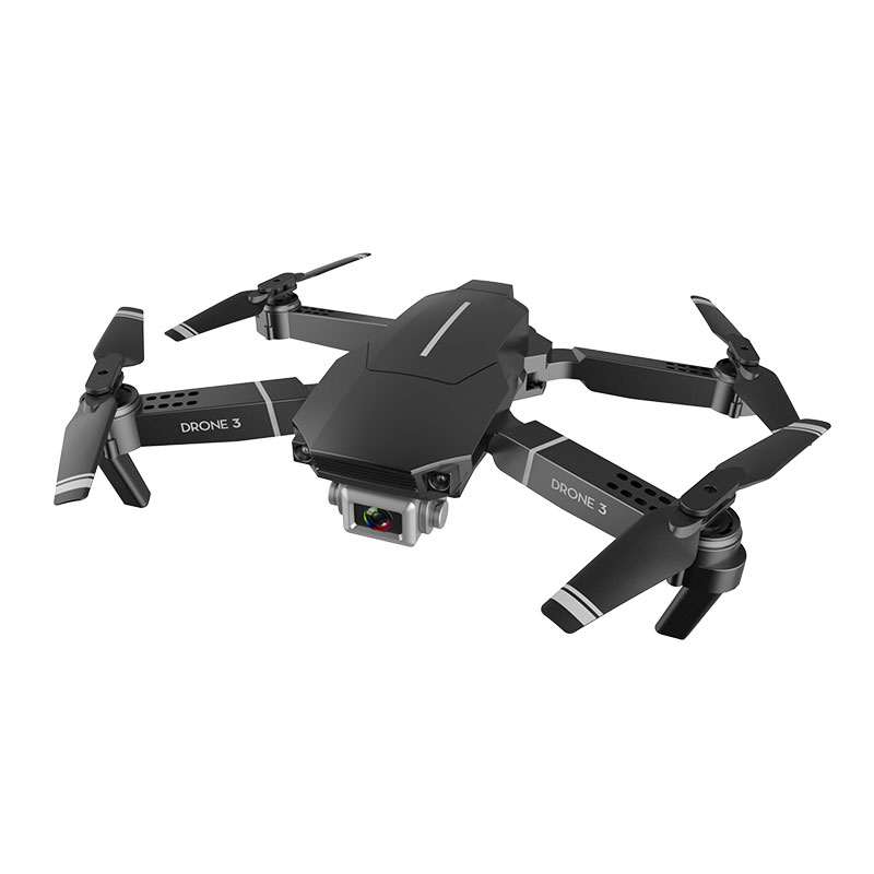 F98 Drone Hd Wide Angle 4k Wifi 1080p Fpv Video Live Recording Quadcopter 20 Mins Flight Time Height to Maintain Drone Camera Toys black_4K