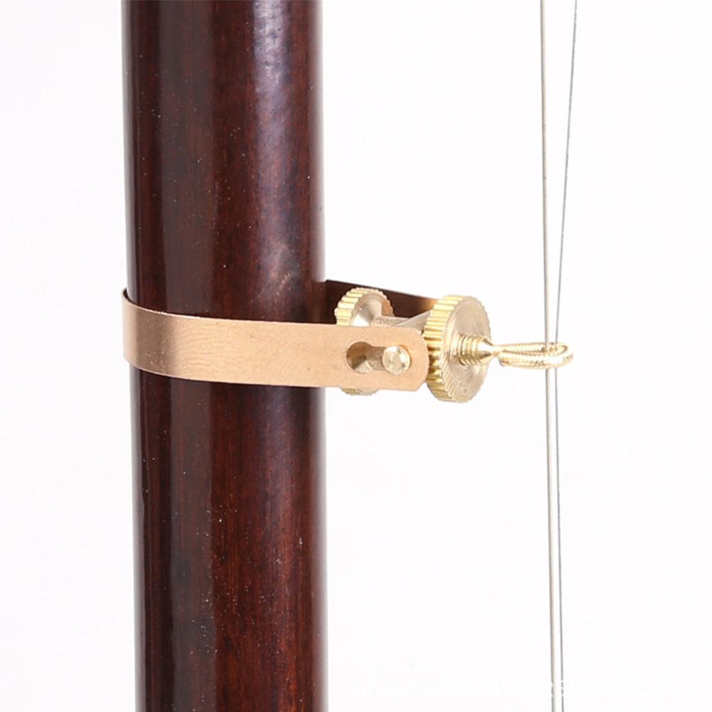 Professional Adjustable Multifunctional Erhu Qianjin Parts Urheen Kaohu Chunghu Replacement Accessory  copper