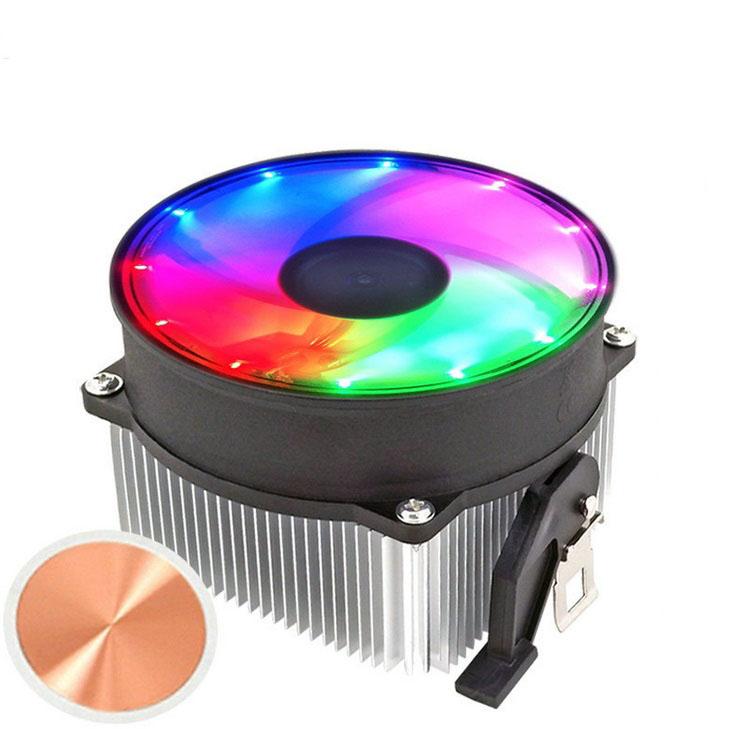 CPU Radiator Computer Cooling Fan PC Case Fan Cooler Case Cooler Fans for Computer Cooler RGB AMD platform