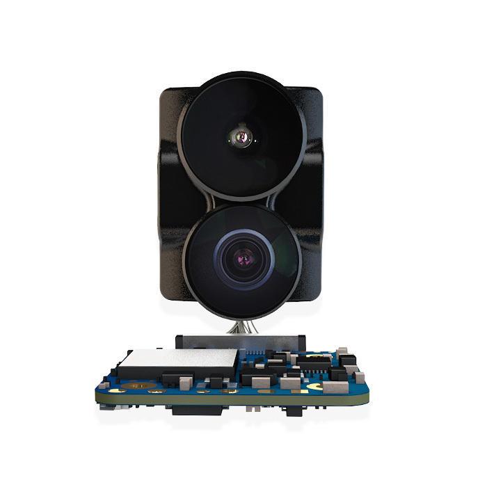 RunCam Hybrid 4K 30fps FOV Camera 145 Degree HD Recording DVR Dual Lens Mini FPV Low Latency Single Board for RC Racing Drone 4K 30fps