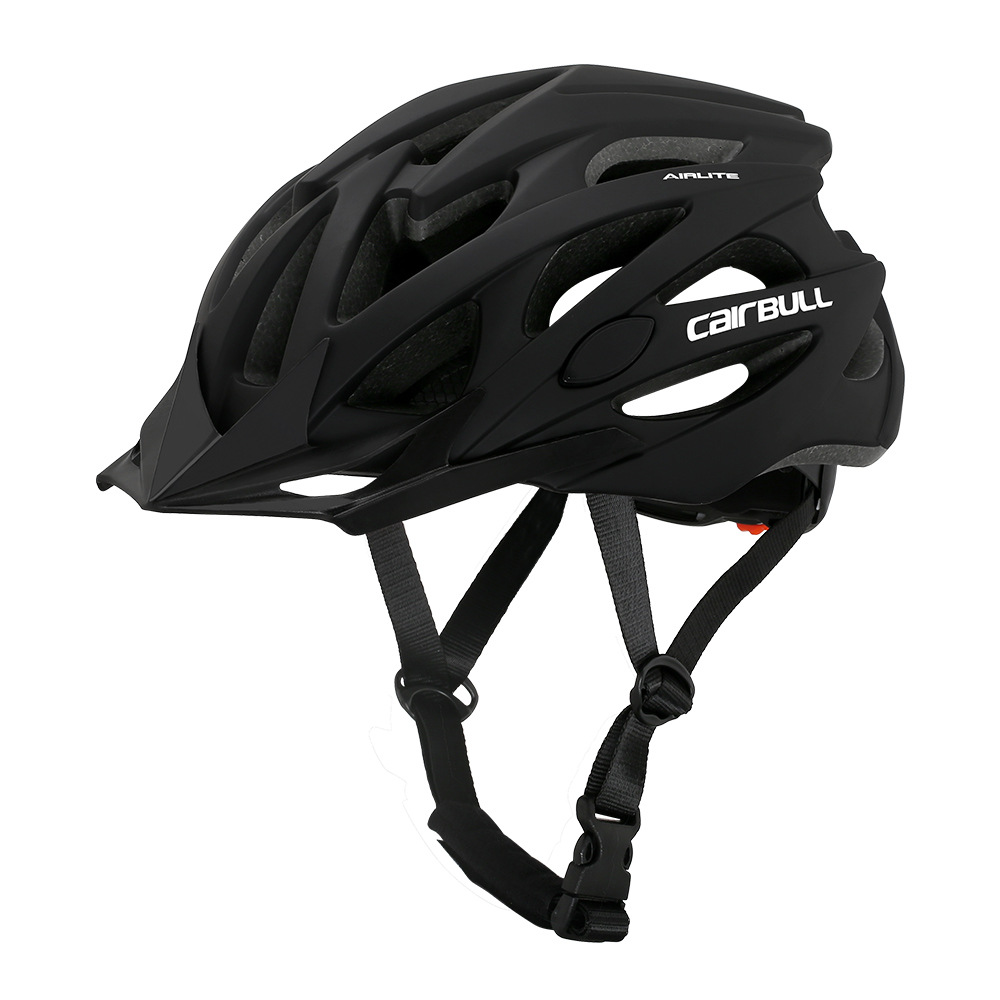 Helmet  With  Sunglasses For Road Bike MTB Outdoor Sports Riding Eps Safety Helmet Black_l