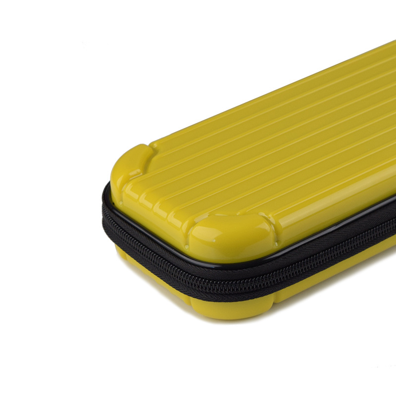 Portable Storage Case for Switch Lite PC Game Console Waterproof Shockproof Overall Protective Cover Travel Shell yellow