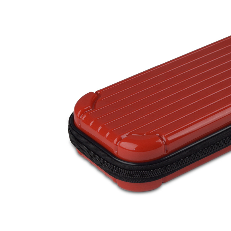 Portable Storage Case for Switch Lite PC Game Console Waterproof Shockproof Overall Protective Cover Travel Shell red