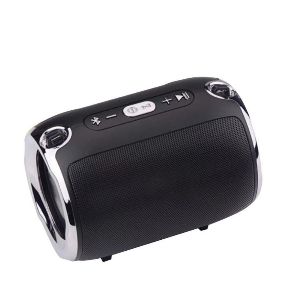 Wireless Bluetooth Portable with Super Subwoofer TWS Insert Card Mini Speaker black