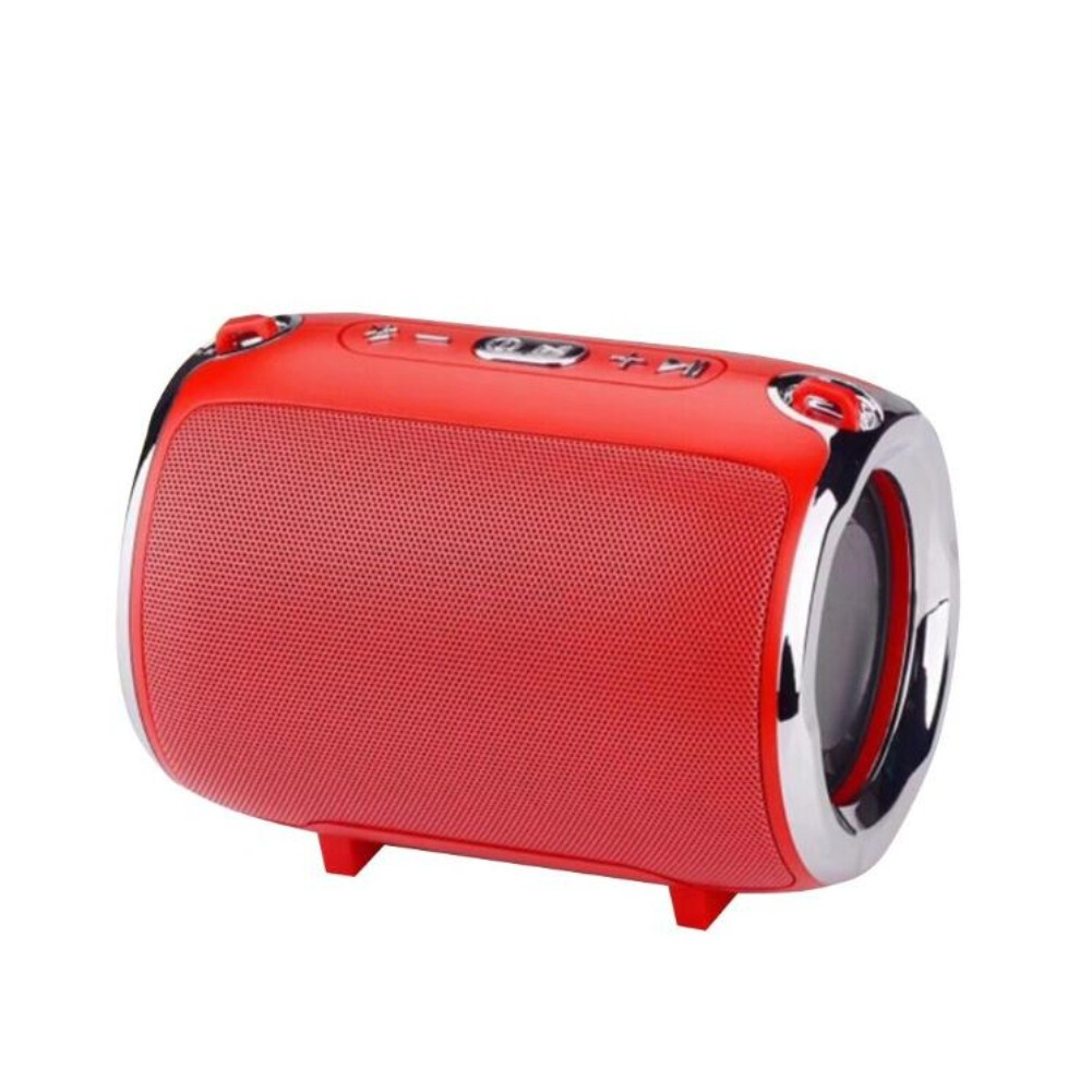 Wireless Bluetooth Portable with Super Subwoofer TWS Insert Card Mini Speaker red
