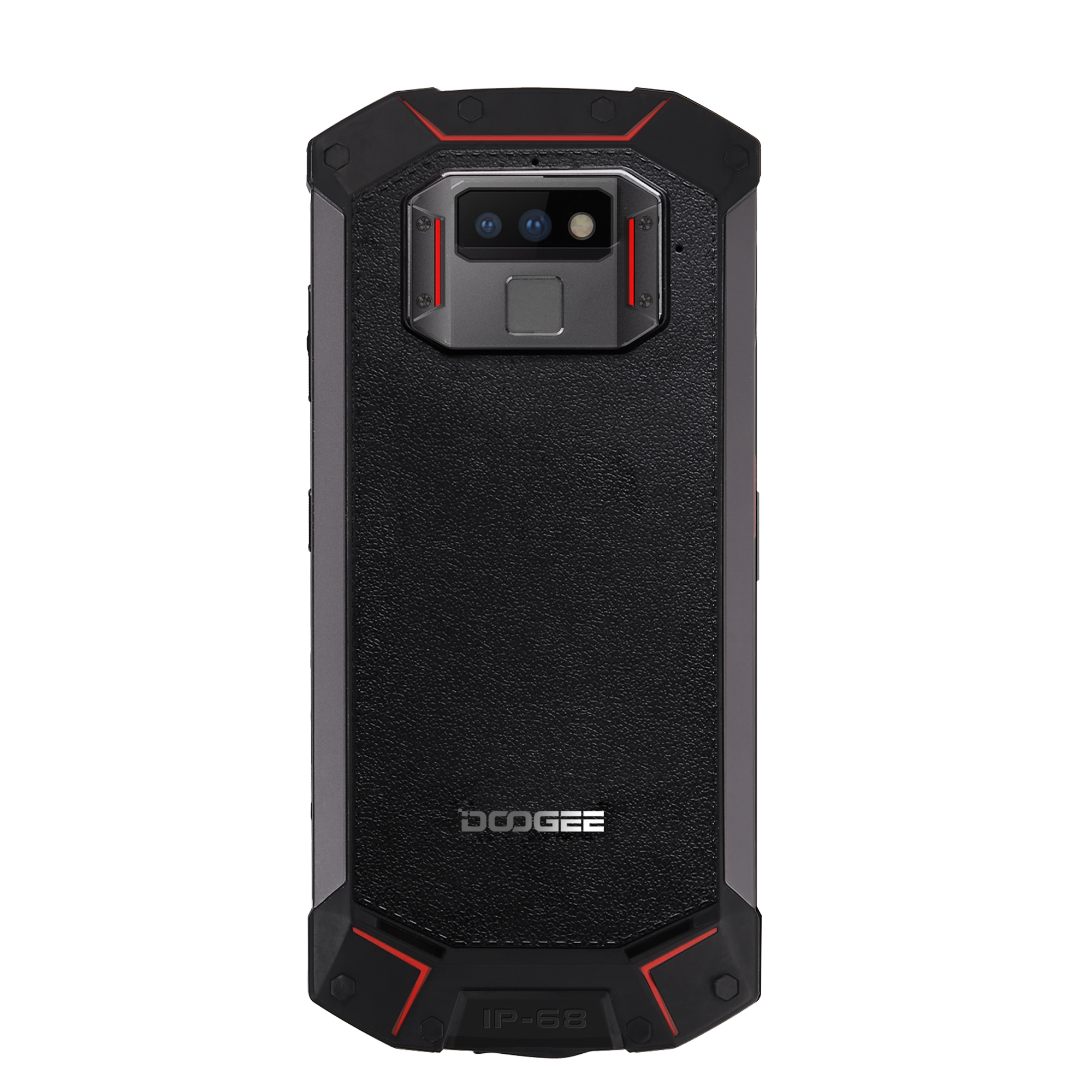 DOOGEE S70 IP68 Waterproof Mobile Phone Android Helio 6GB RAM + 64GB ROM 4G Smartphone (Red)