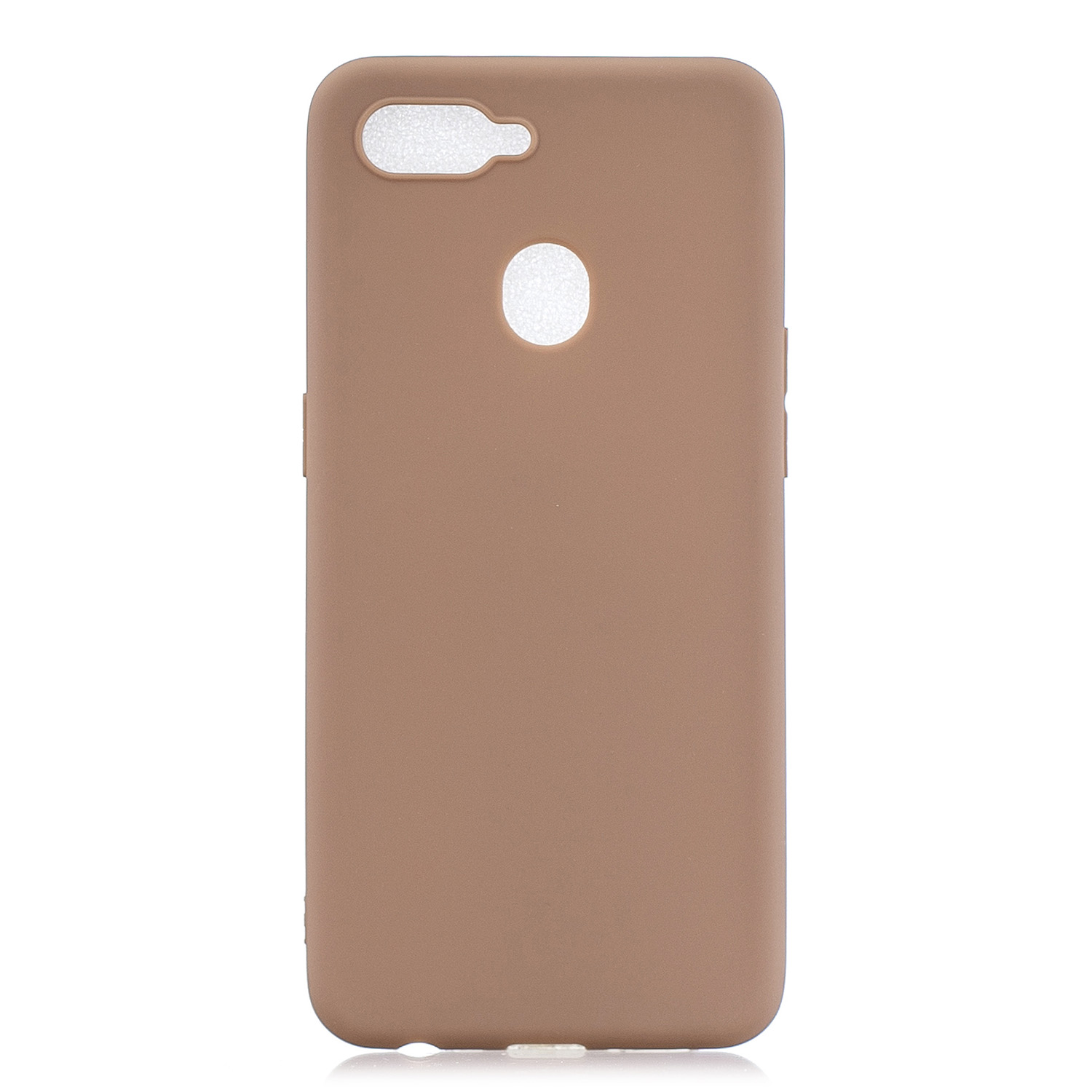 For OPPO F9 Lovely Candy Color Matte TPU Anti-scratch Non-slip Protective Cover Back Case 9