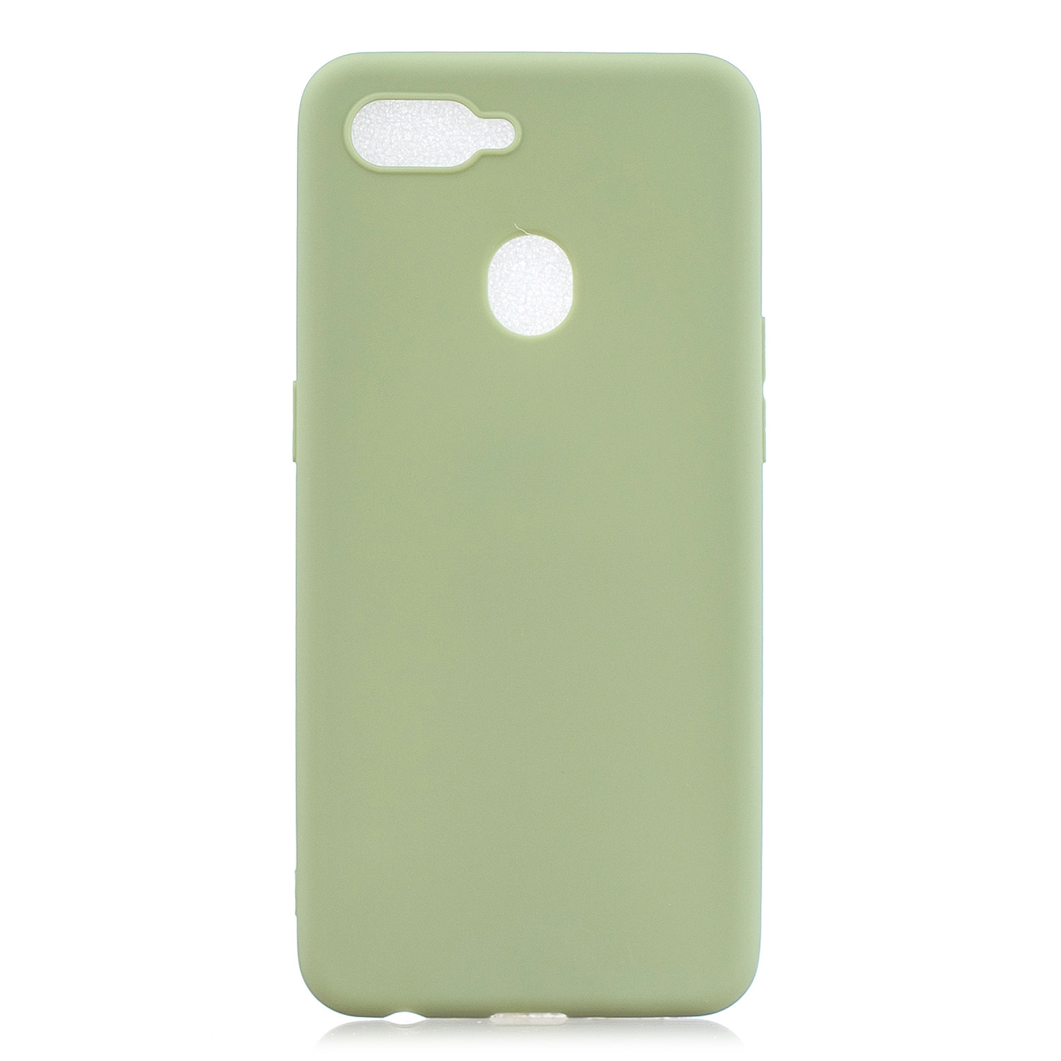 For OPPO F9 Lovely Candy Color Matte TPU Anti-scratch Non-slip Protective Cover Back Case 10