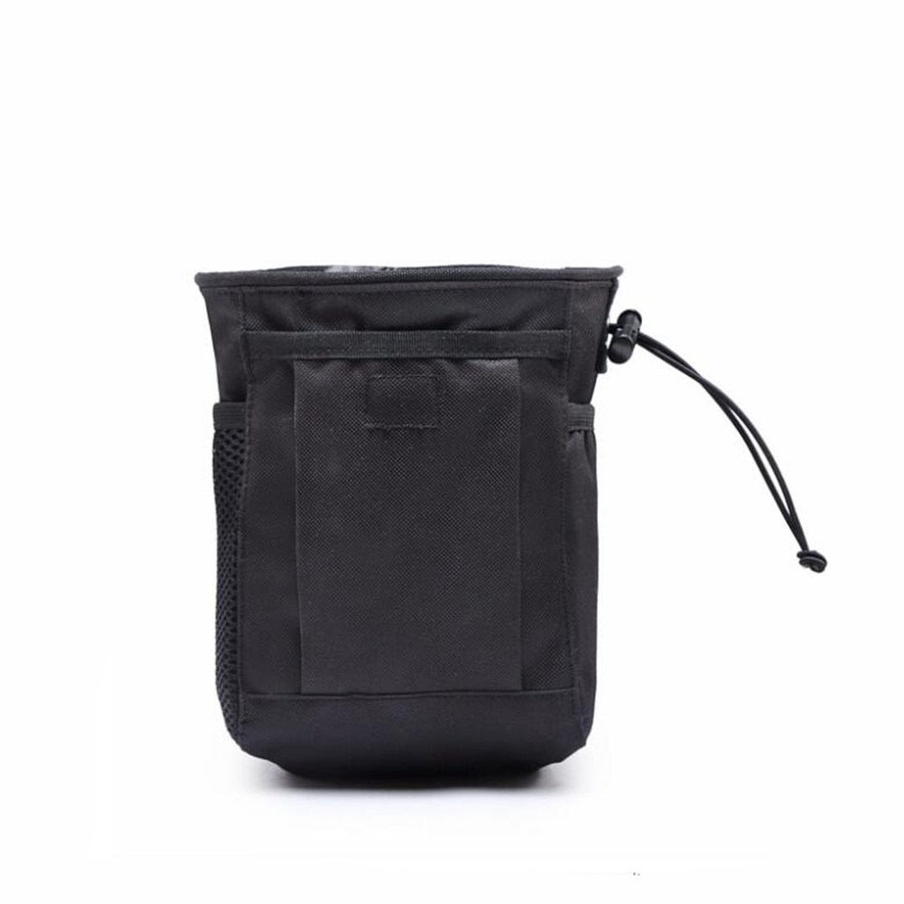 Outdoor Pouch Recycle Waist Pack Bags black_One size