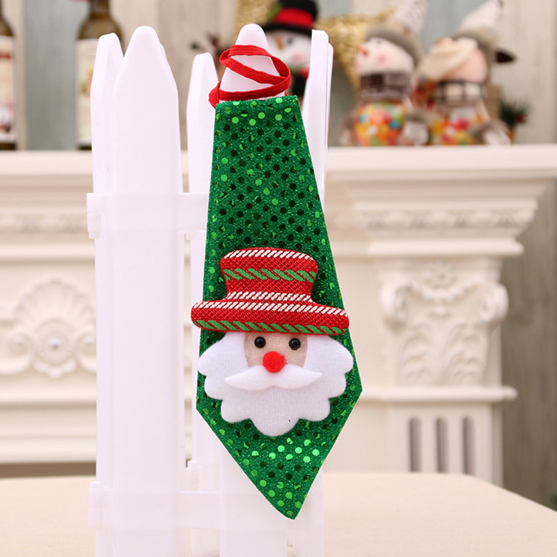 Christmas Xmas Decorations Sequins Light Tie Gifts Bag Filler for Adult Kids Ordinary elderly