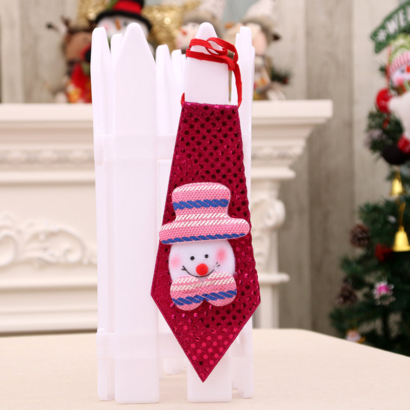 Christmas Xmas Decorations Sequins Light Tie Gifts Bag Filler for Adult Kids Ordinary snowman