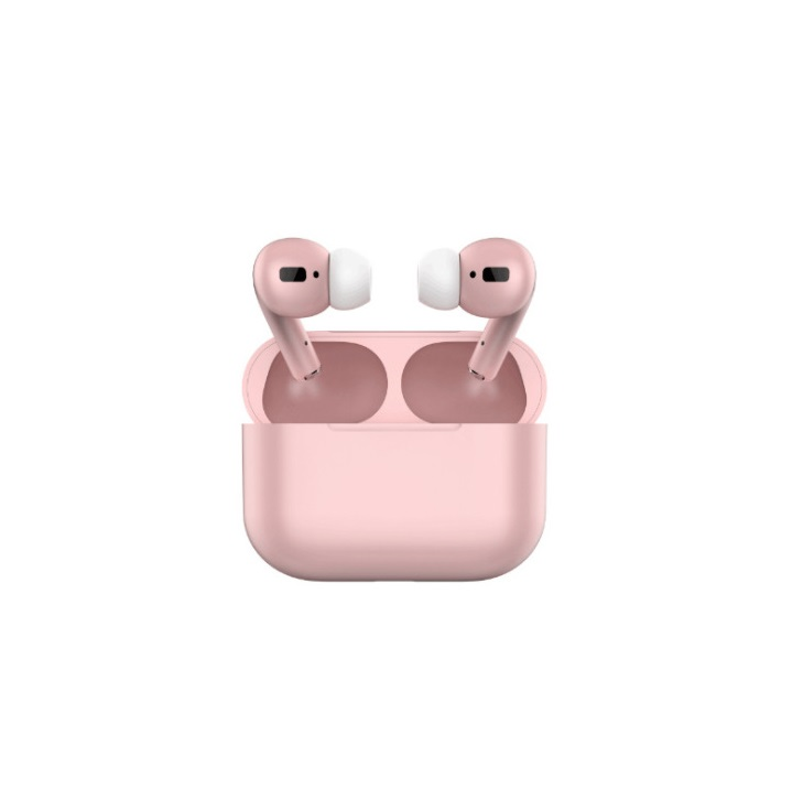 TWS Bluetooth 5.0 Wireless Earphone Macaron Earbuds with Charging Box Pink