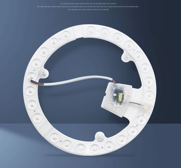 220V LED Module Button Switch Ceiling Lamp Source Touch Corner Side Drive White light (with packaging)