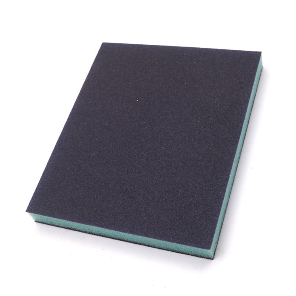 Thin Double Side Polishing Sponge Sandpaper for Guitar Fingerboard Random Color 12*10*1.2cm