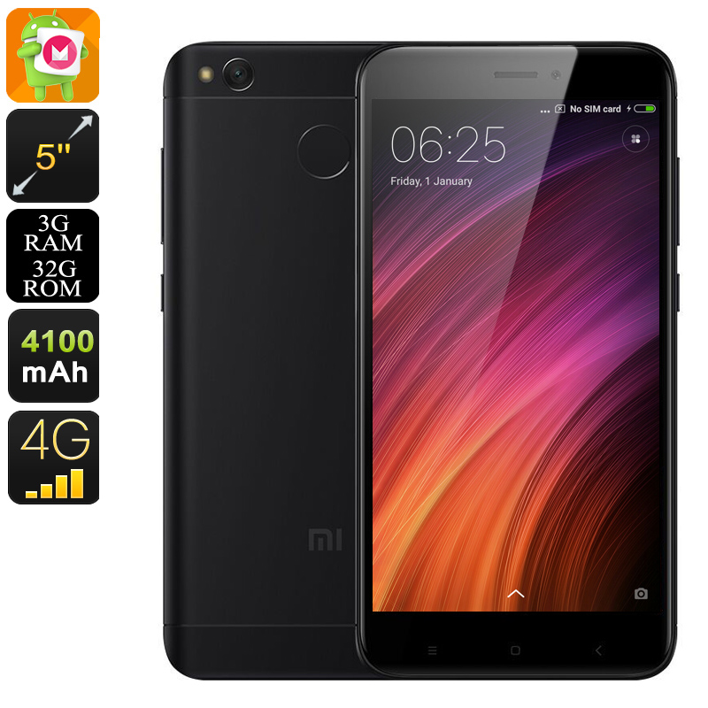 Android Phone Xiaomi Redmi 4X (32GB Black)