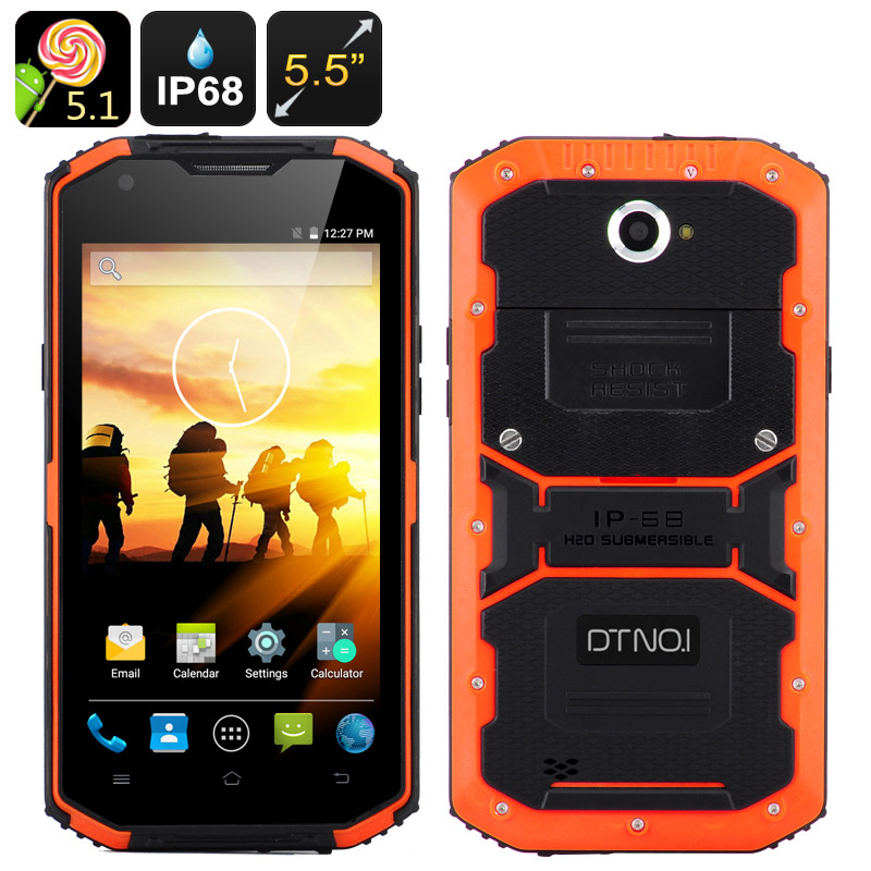 DTNO.1 Rugged Smartphone