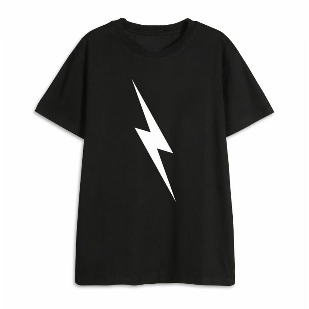 Men Women NCT127 T Shirt Short Sleeve Fashion Student Summer Tops for Couple Lover Black K260#_XL
