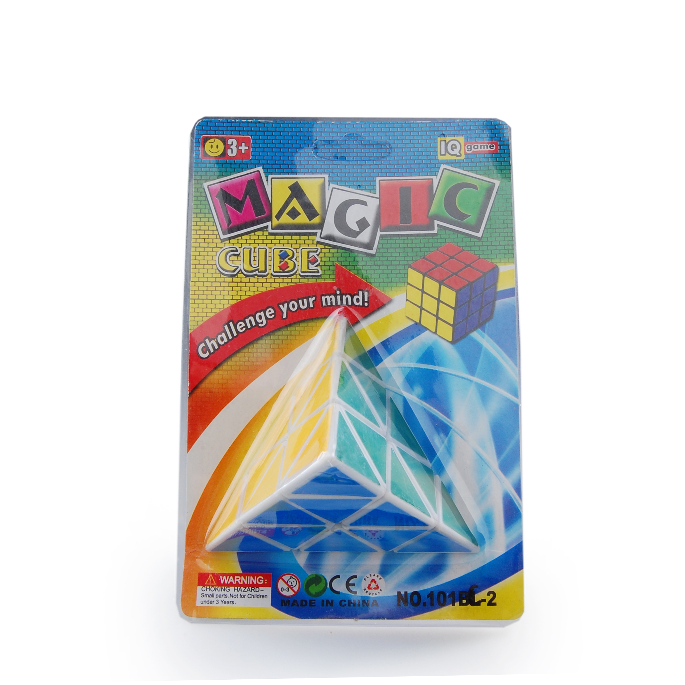 Mo Zhi 3*3*3 Magic Cube Children Educational Puzzle Cube Intellectual Development Toy