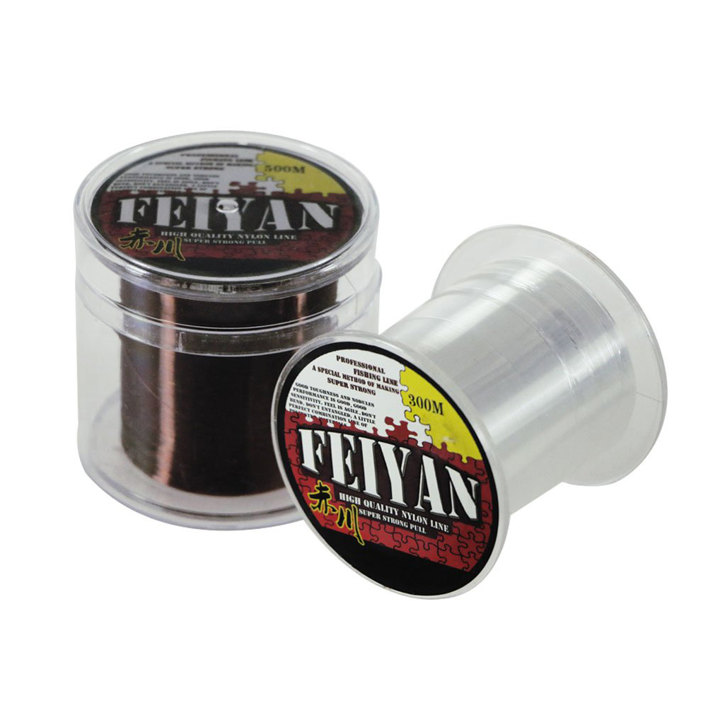 500M Monofilament Fishing Line Nylon Fishing Line Strong and Abrasion Resistant Line for Saltwater  Transparent