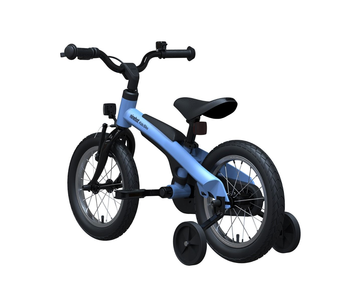 [US Direct] Original NINEBOT Kids Bike by Segway 14 Inch with Training Wheels, Premium Grade, Recommended Height 2'11'' - 3'11'' (Blue) Blue