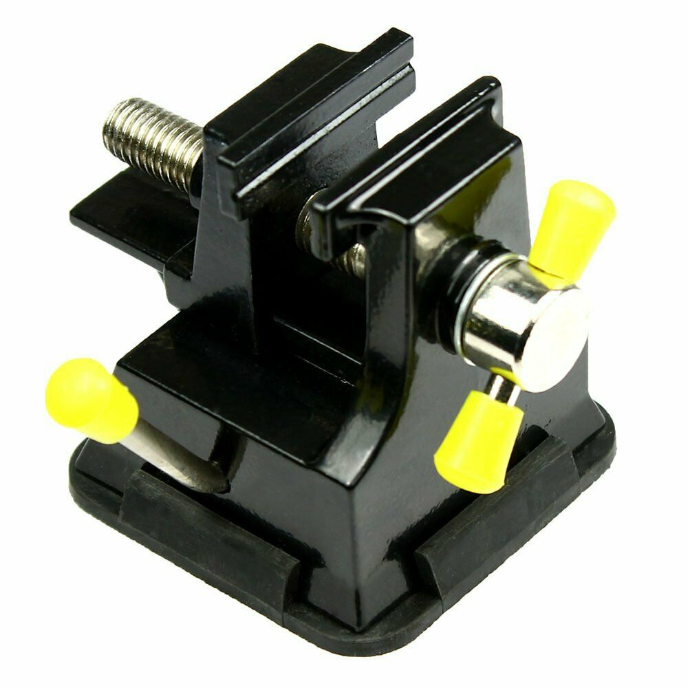 Miniature Tabletop Vise with Suction Cup