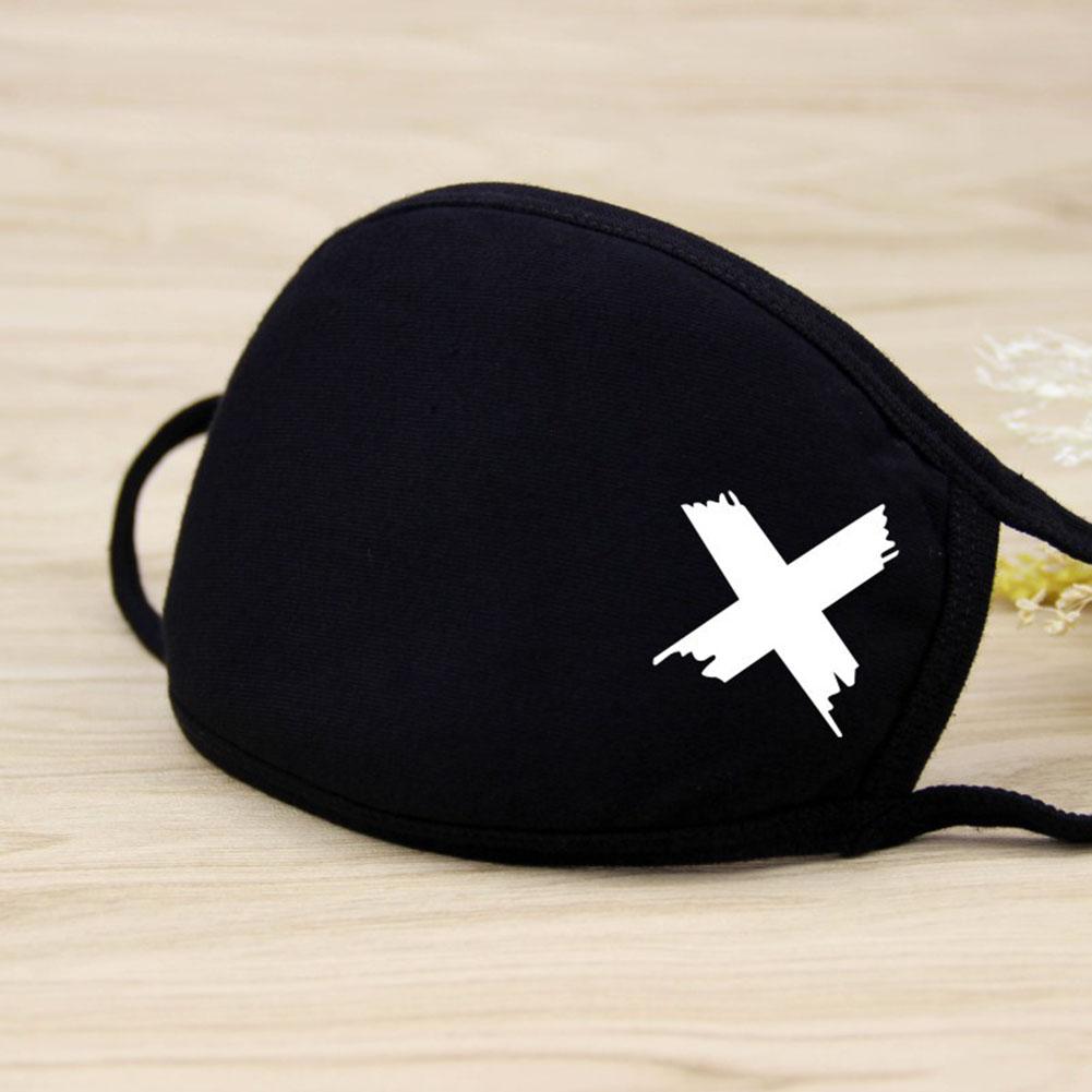 Riding Cotton Mask Dust-proof Facial Mouth Protection Fashion Men Women Black Mask KZ-2010