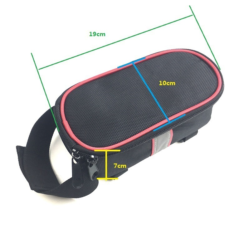 Universal Electric Bicycle Triple-Cornered Battery Bag Triple-Cornered Bag Electric Scooter Electric Bike Battery Controller 19*10*7cm_S