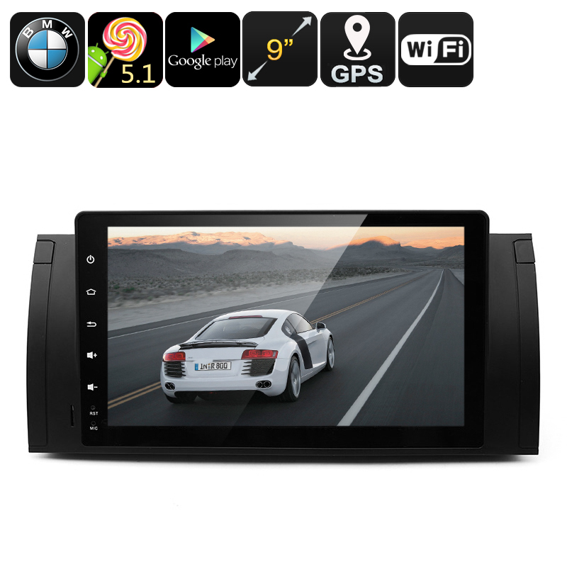 Two DIN Android Car Media Player For BMW