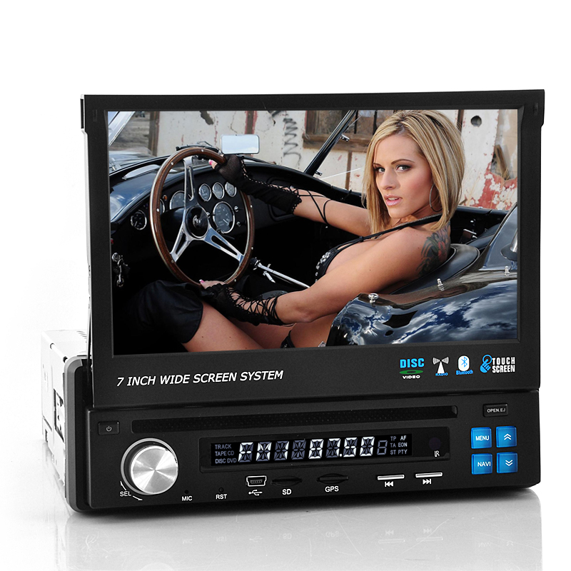 7 Inch Flip Out Display Car DVD - Road Knight