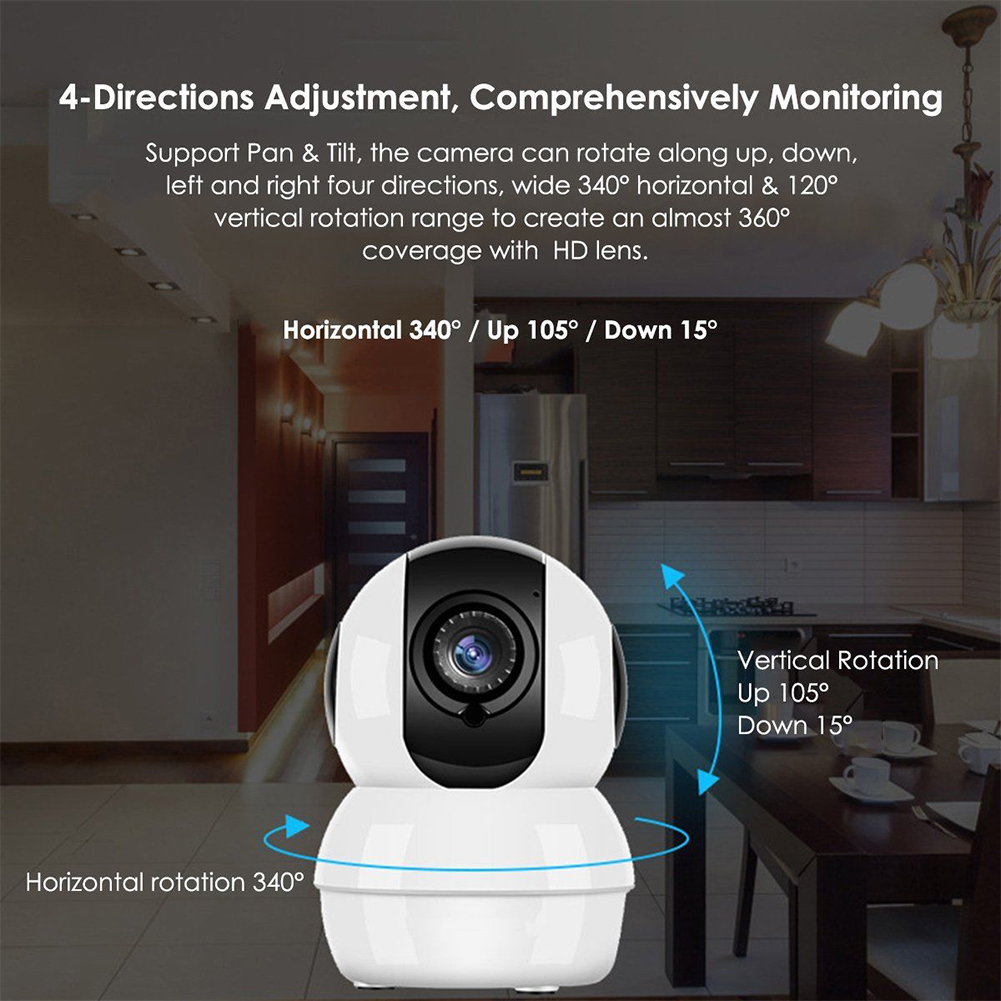 AU Wireless HD Mini 1080P Security Camera Network CCTV Night Vision WiFi Webcam