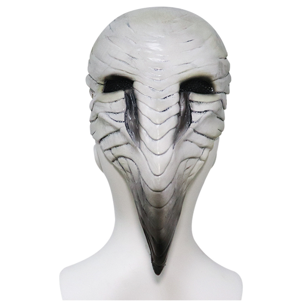 Plague Doctor Bird Mask Long Nose Beak Cosplay Steampunk Halloween Costume Props Latex Material Bone beak