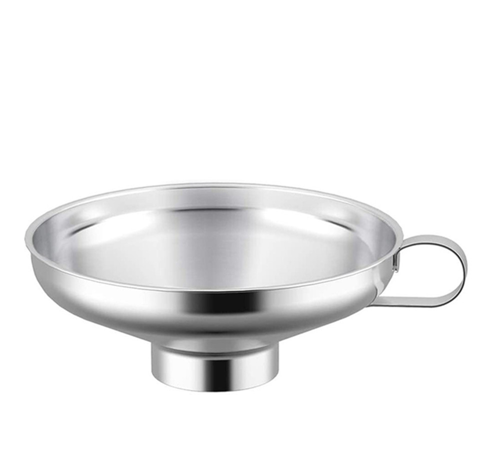 Stainless Steel Wide Mouth Canning Funnel  Cup Kitchen Filter Tools  Small