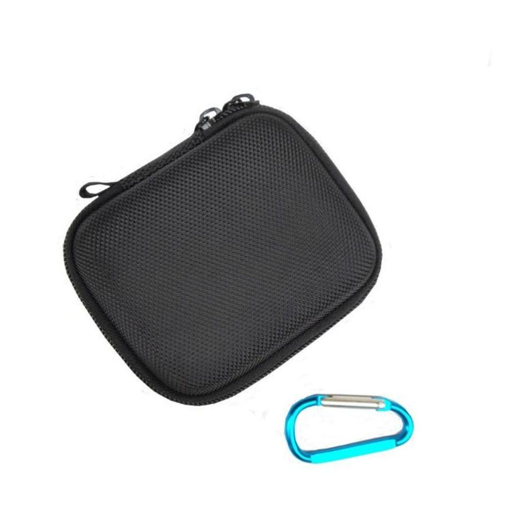 Speaker Storage Case for JBL Go/Go2 Bluetooth Speaker Portable Hard EVA Bag Zipper Closure Waterproof Cover  black