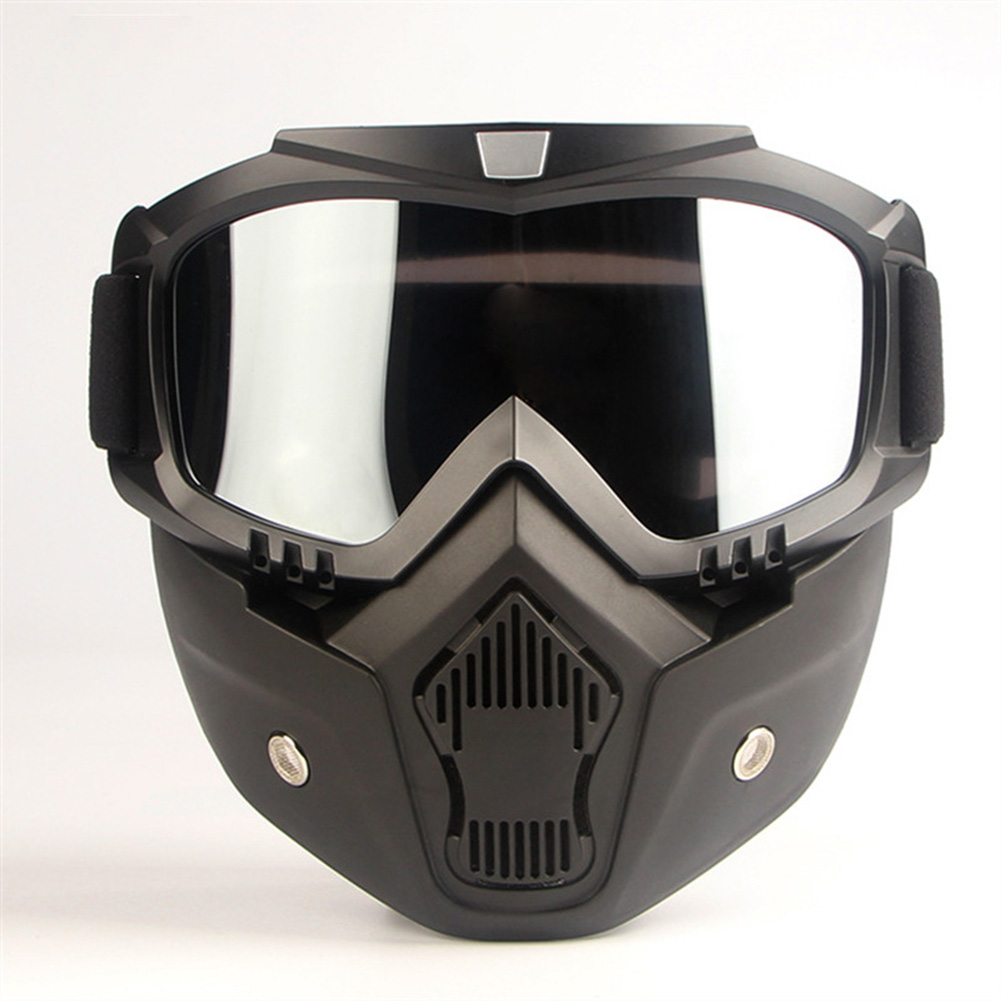 Motorcycle Helmet Mask Riding Off-road Equipment Outdoor Military Enthusiasts CS Goggles Mask