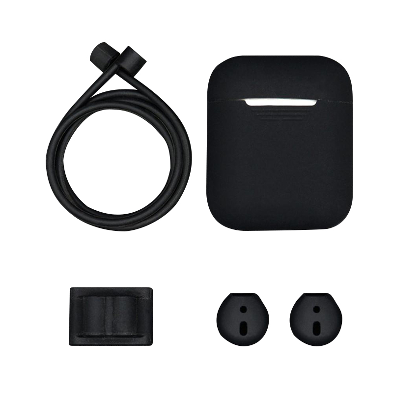 5 in 1 Silicone Cover Case Earphone Set