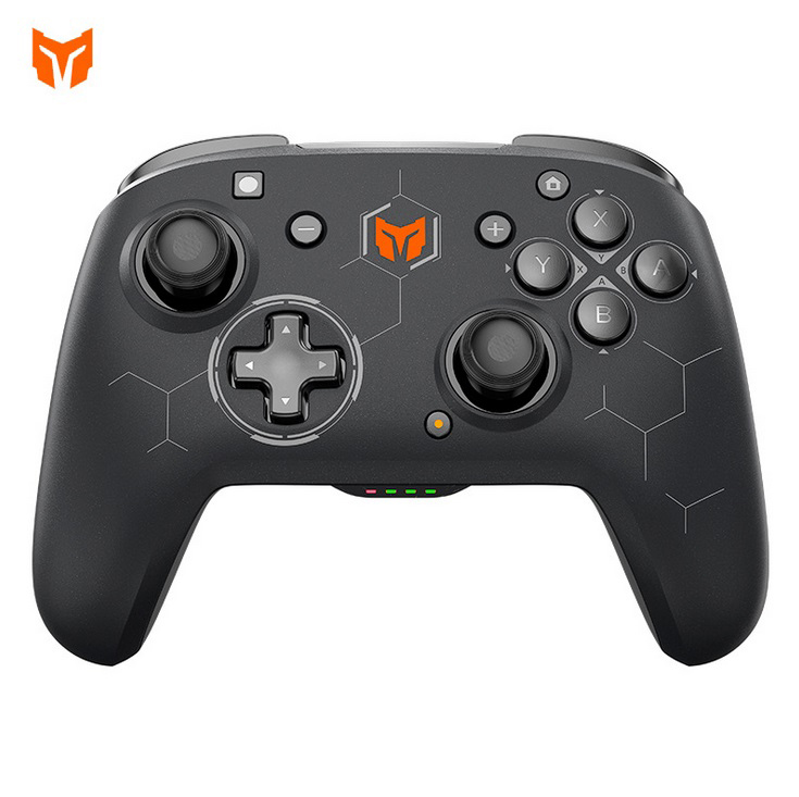 Mojang C2 Wireless Bluetooth 3-mode Gamepad Supports Wired 2.4g Game Controller For Android Switch Pc Ps4 Black