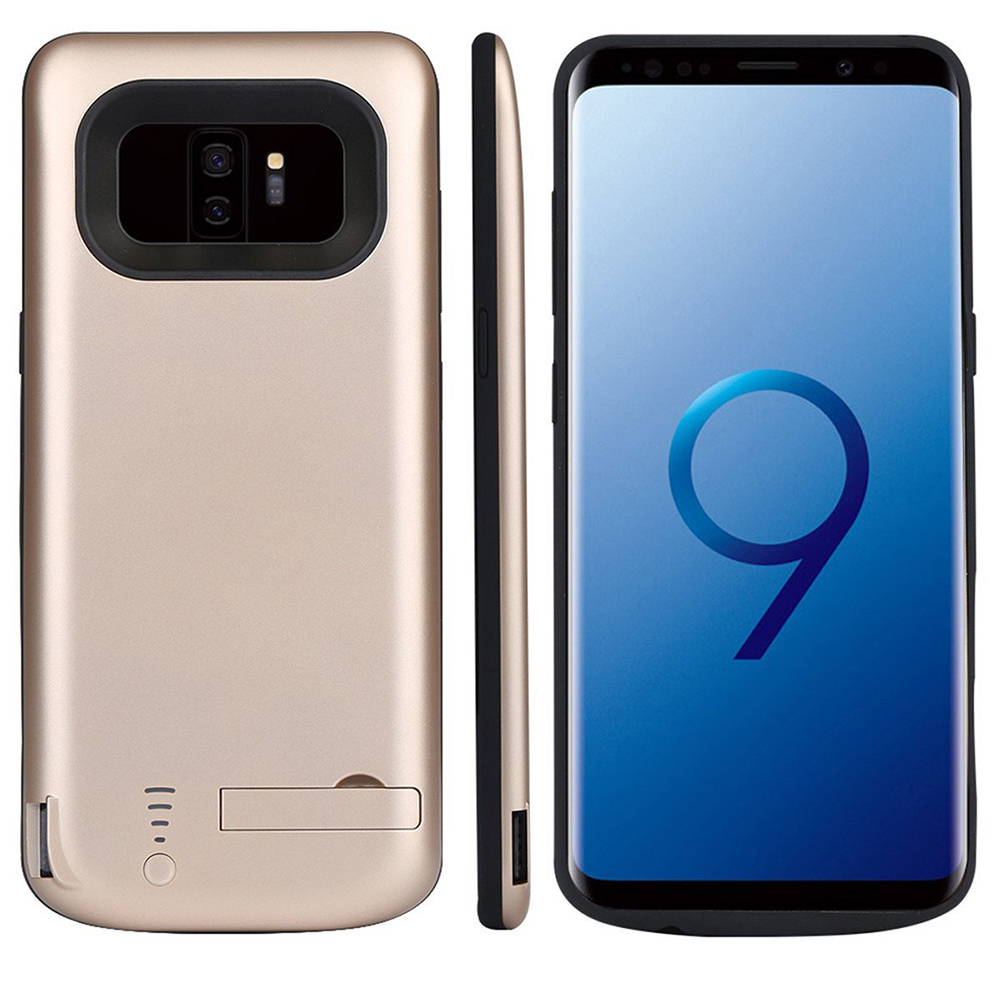5000mAh Rechargeable Extended Battery Charging Case Backup Power Bank Case for Samsung Galaxy S9