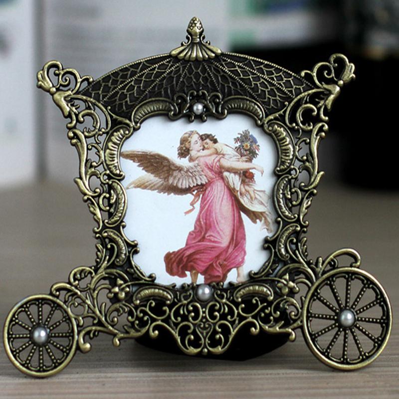 Vintage Metal Carriage Photo Frame - 3