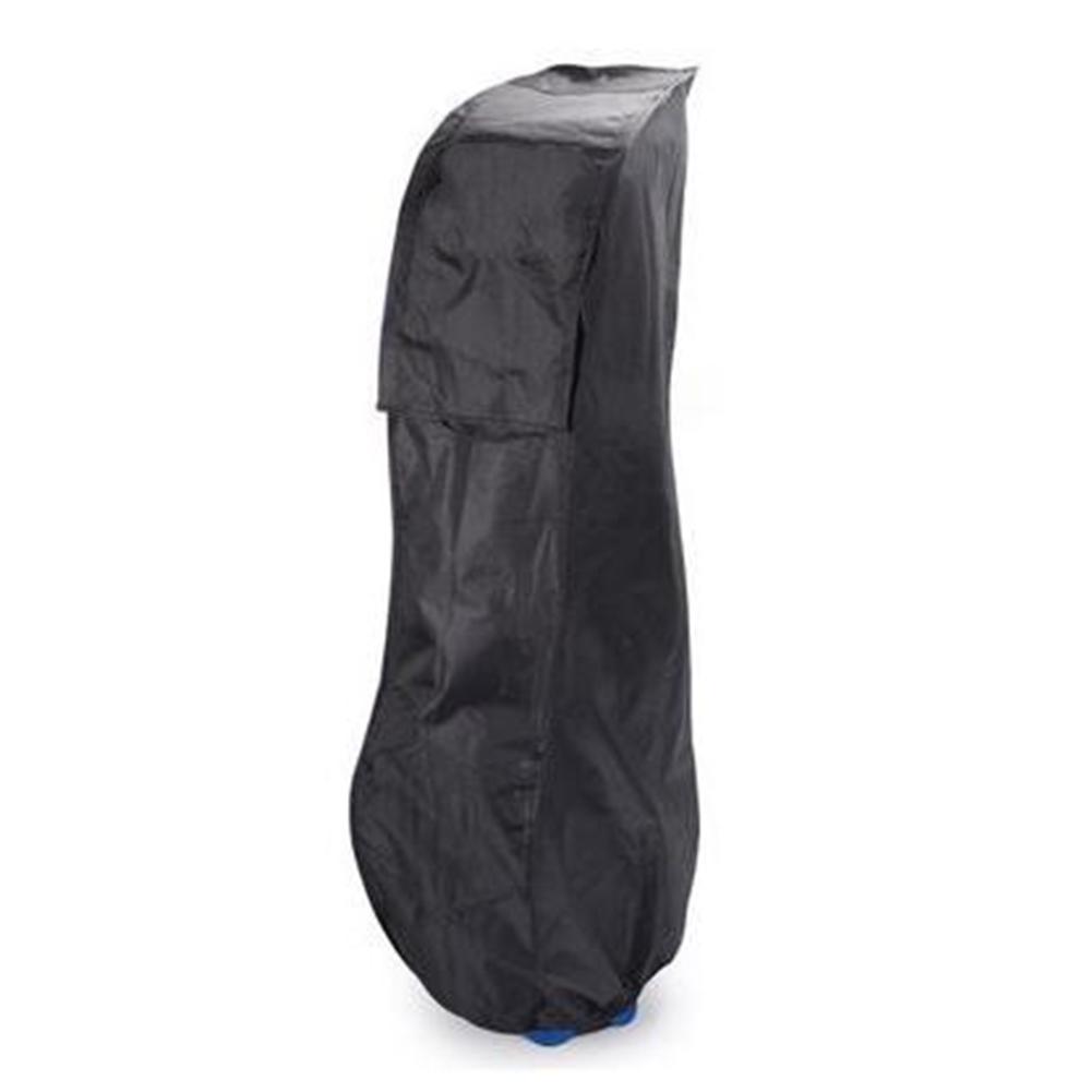 Golf Bag Rainproof Cover Golf Sun Block Clothes Dustpproof Jacket black