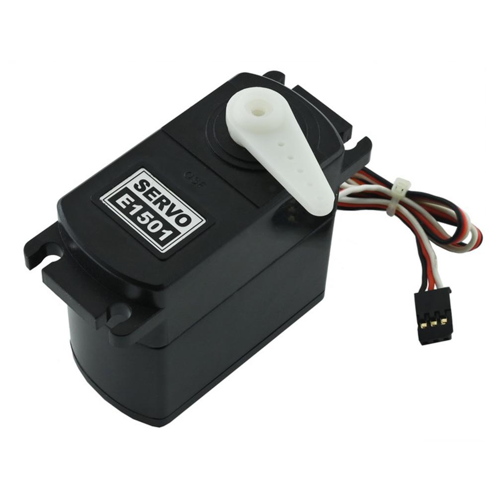 E1501 15kg High Torque Servo Metal Gear Steering / Accelerator / Throttle Servo for 1/6 Rc Car default