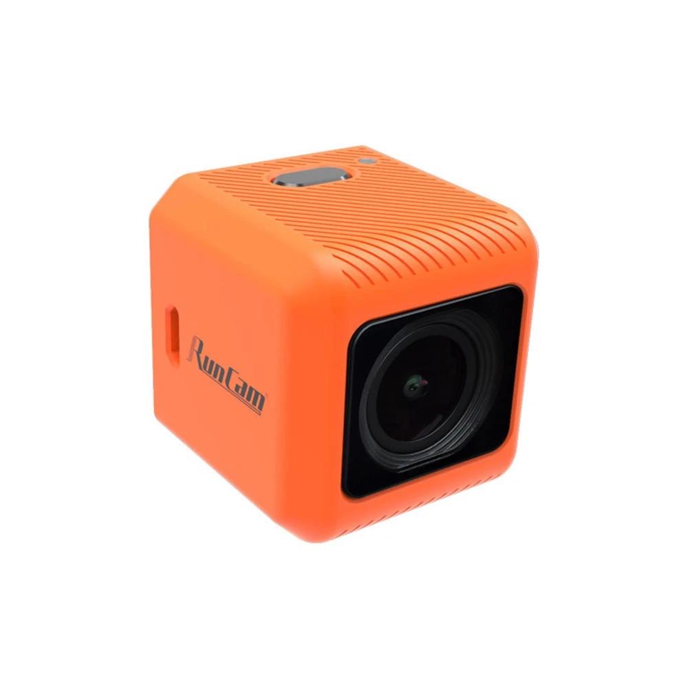 RunCam 5 Orange 12MP 4:3 145°FOV 56g Ultra-light 4K HD FPV Camera for RC Drone Orange