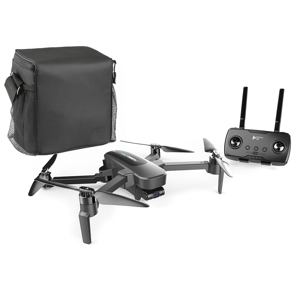 Hubsan H117S Zino Pro GPS 5G WiFi 1KM FPV with 4K UHD Camera 3-Axis Gimbal RC Drone Quadcopter RTF US regulation 2-battery
