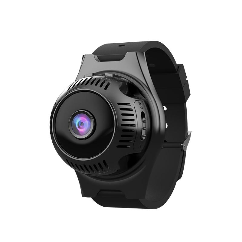 Wireless High-definition Mulitifunction Network Monitor Wide-angle Wifi Watch Camera black