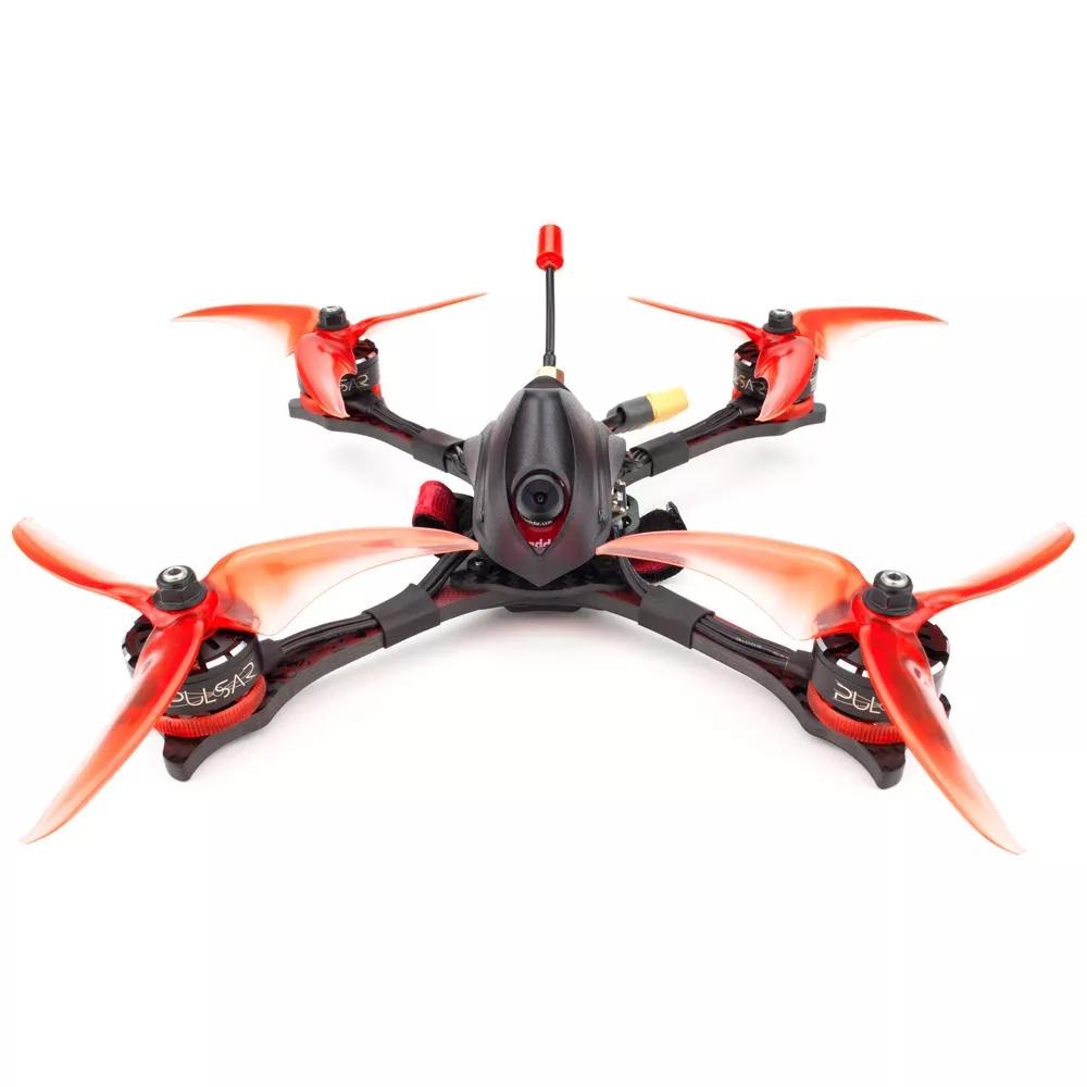 EMAX Hawk Pro 5 Inch 4S/6S FPV Racing Drone PNP/BNF F405 FC 35A Blheli_32 ESC Pulsar 2306 1700KV/2400KV Motor CADDX Ratel Cam 25-200mW VTX  PNP 1700KV 4S NO Receiver