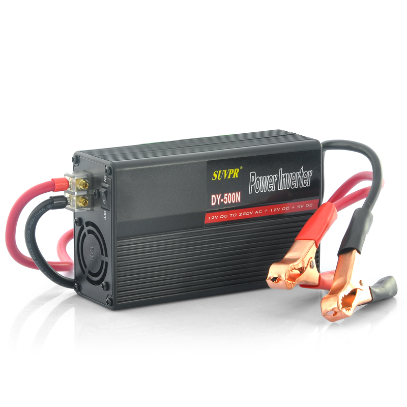500W to AC 220V Power Inverter w/ USB Port